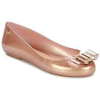 Balerínky/Babies Melissa  VW SPACE LOVE 18 ROSE GOLD BUCKLE