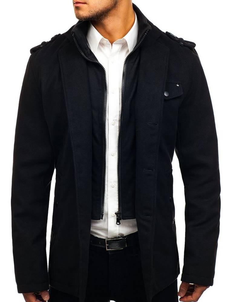 Čierny pánsky plášť
