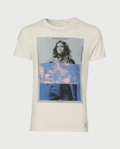 Tričko O´Neill Lm Optical Illusion T-Shirt Biela