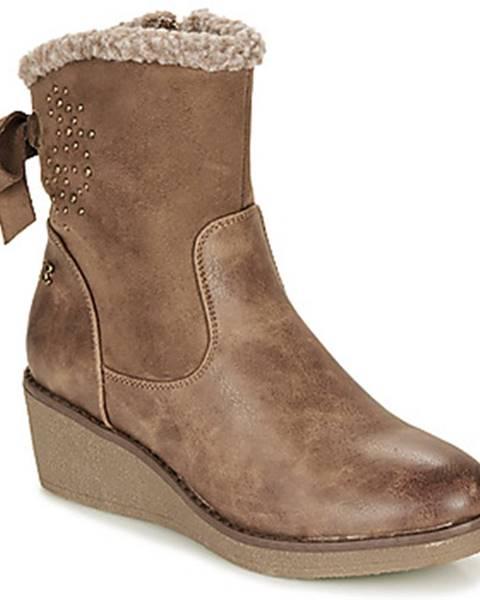 Hnedé topánky Refresh