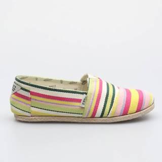 Topánky  Classic Yellow Stripes Multicolor Farebná