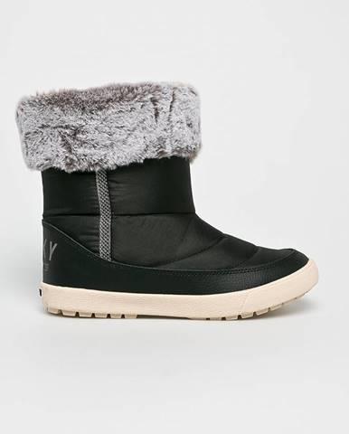 Čierne zimná obuv Roxy