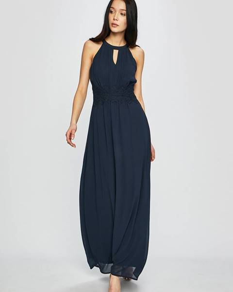 Tmavomodré šaty Vila