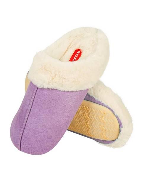 Fialové papuče SOXO