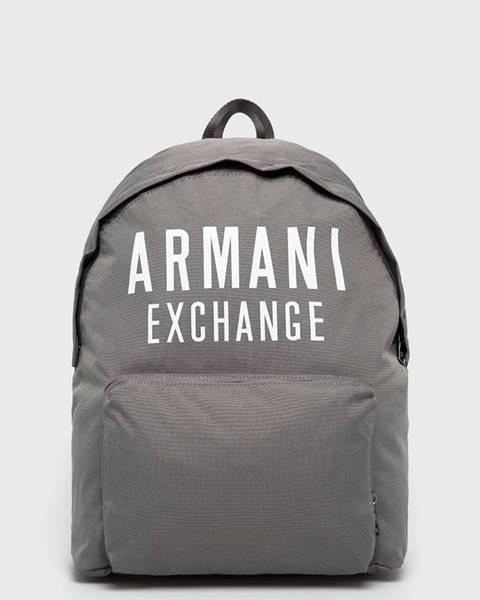 Zelený batoh Armani Exchange