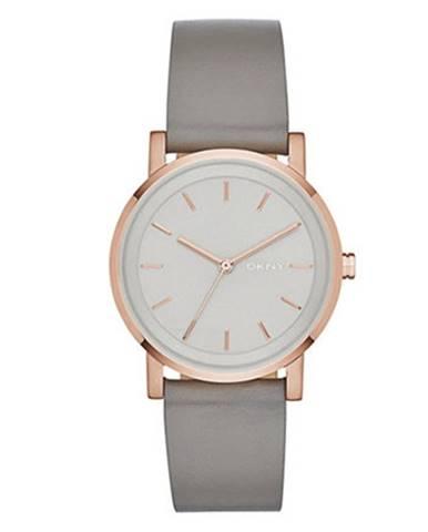 Sivé hodinky DKNY