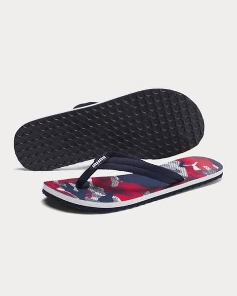 Červené sandále Puma