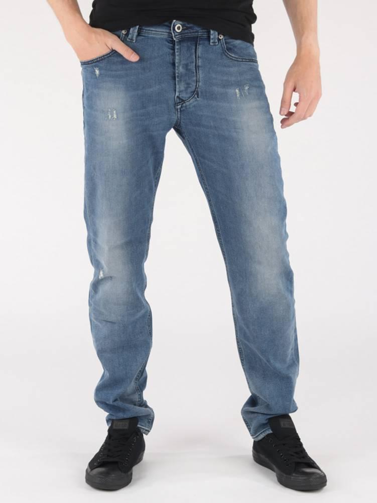 Diesel Džínsy Diesel Larkee-Beex L.32 Pantaloni Modrá