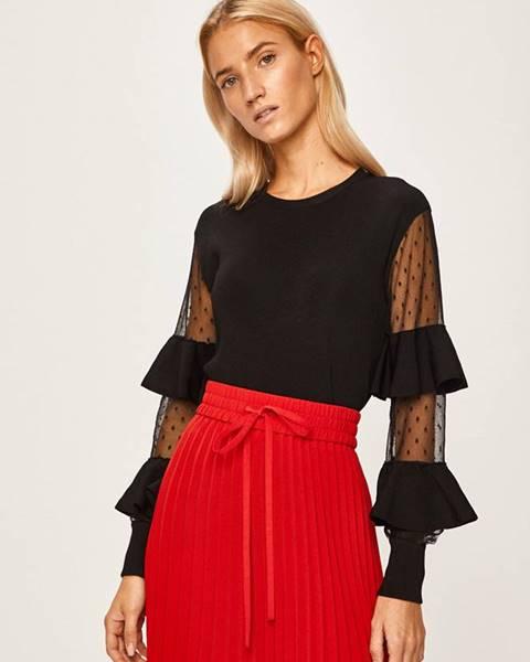 Čierny sveter Red Valentino