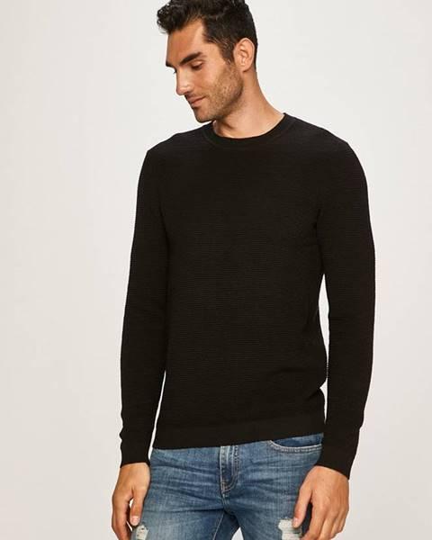 Čierny sveter Selected