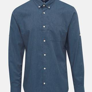 Modrá košeľa Jack & Jones Lunddahl