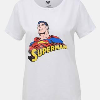 Noisy May  Biele tričko Noisy May Superman