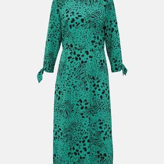 Zelené vzorované maxišaty Dorothy Perkins