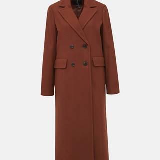 Hnedý kabát Dorothy Perkins