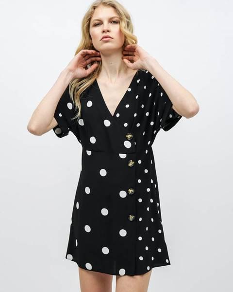 Čierne šaty Miss Selfridge