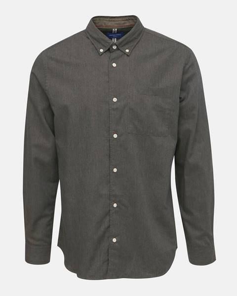 Sivá košeľa Jack & Jones
