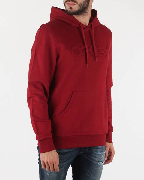Červená mikina Oakley