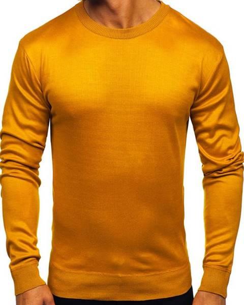 Kamelový pánsky sveter