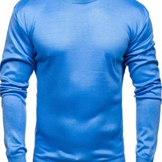 Modrý pánsky sveter