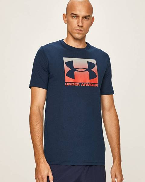 Tmavomodré tričko Under Armour