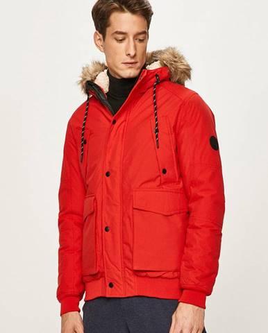 Červená bunda Jack & Jones