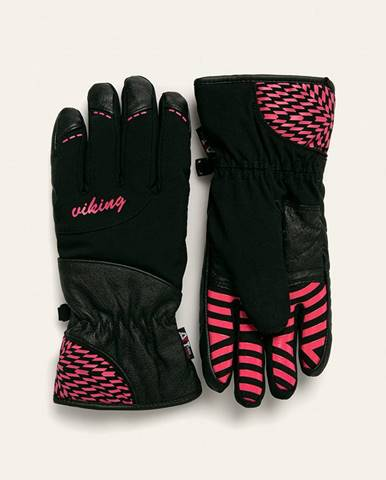 Čierne rukavice Viking