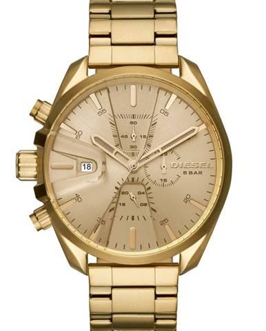 Zlaté hodinky Diesel