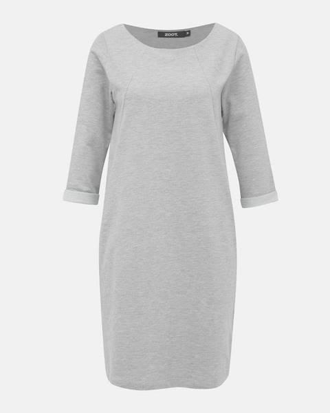 Sivé šaty ZOOT