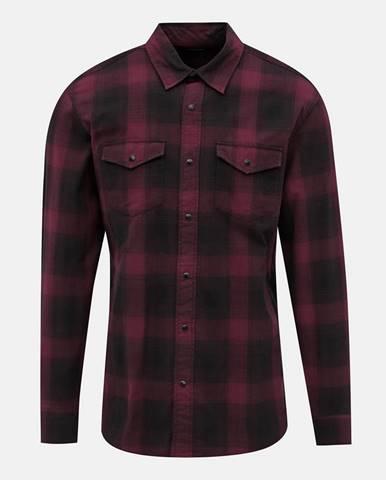 Vínová košeľa Jack & Jones