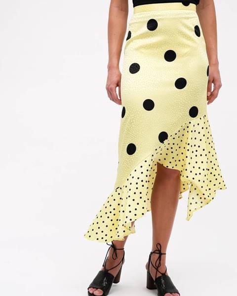 Žltá sukňa Miss Selfridge
