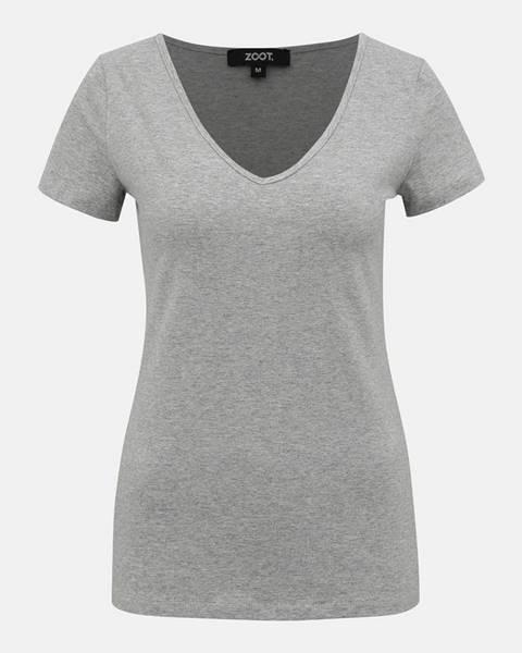 Sivé tričko ZOOT