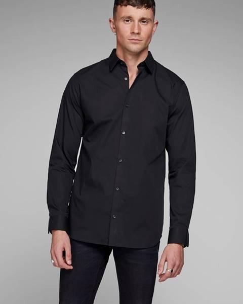 Čierna košeľa Jack & Jones