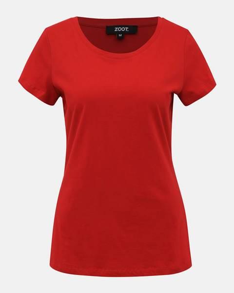 ZOOT Červené dámske basic tričko ZOOT Dana