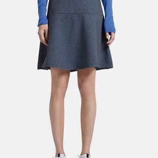 Tom Tailor  Modrá vzorovaná sukňa Tom Tailor