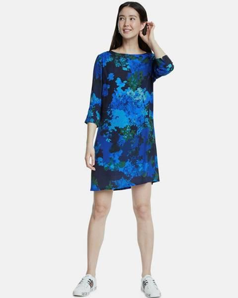 Modré šaty Desigual