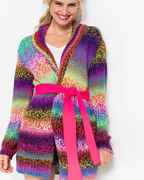 Fialový sveter bonprix