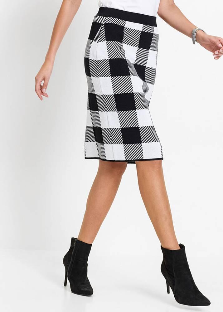 bonprix Pletená sukňa