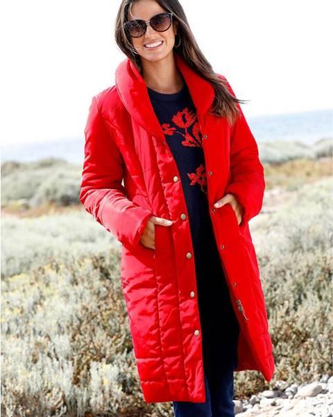 Červený kabát bonprix