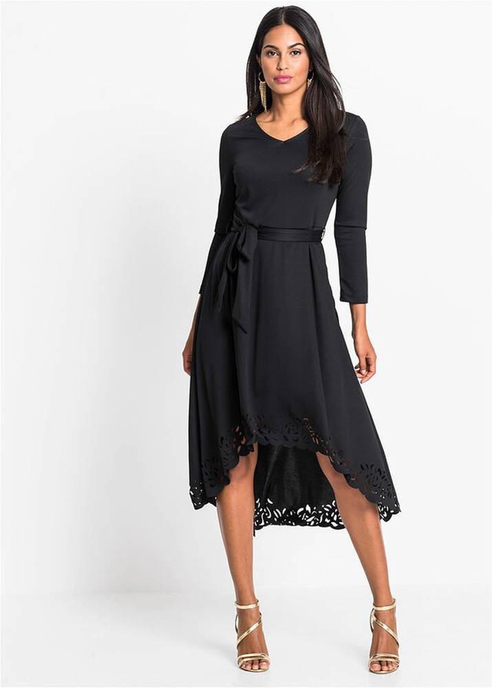bonprix Šaty s lejzrovým vzorom