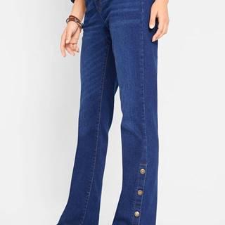 Strečové džínsy, BOOTCUT, na gombičky