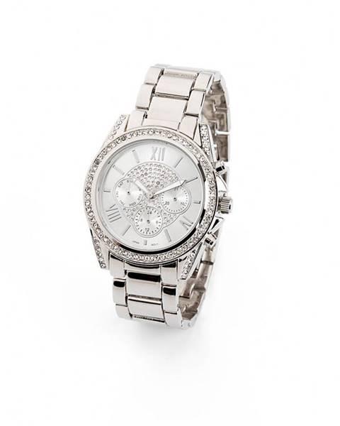 Strieborné hodinky bonprix