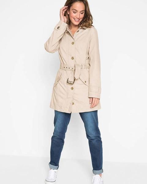 Sivý kabát bonprix