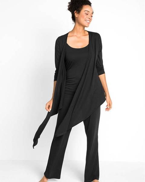 bonprix Úpletový sveter, tričko, nohavice (3-dielna sada)