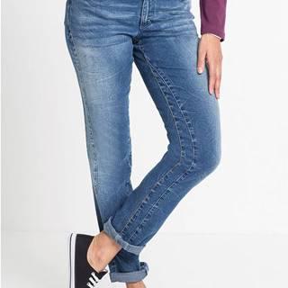 Strečové džínsy rovné
