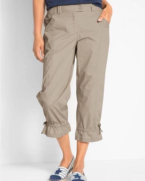 Béžové nohavice bonprix