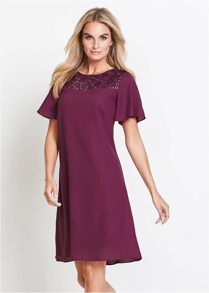bonprix Šaty s čipkou