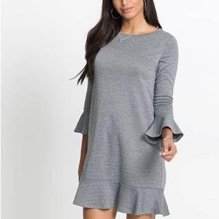 Elastické žakárové šaty