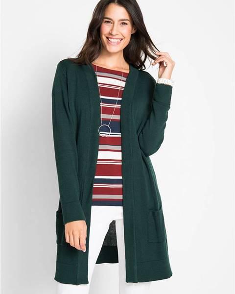Zelený sveter bonprix