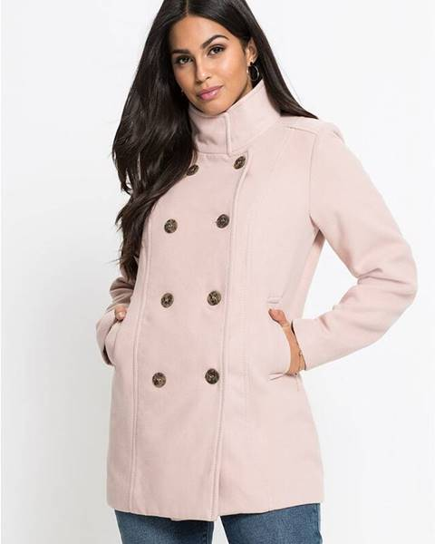 Ružový kabát bonprix