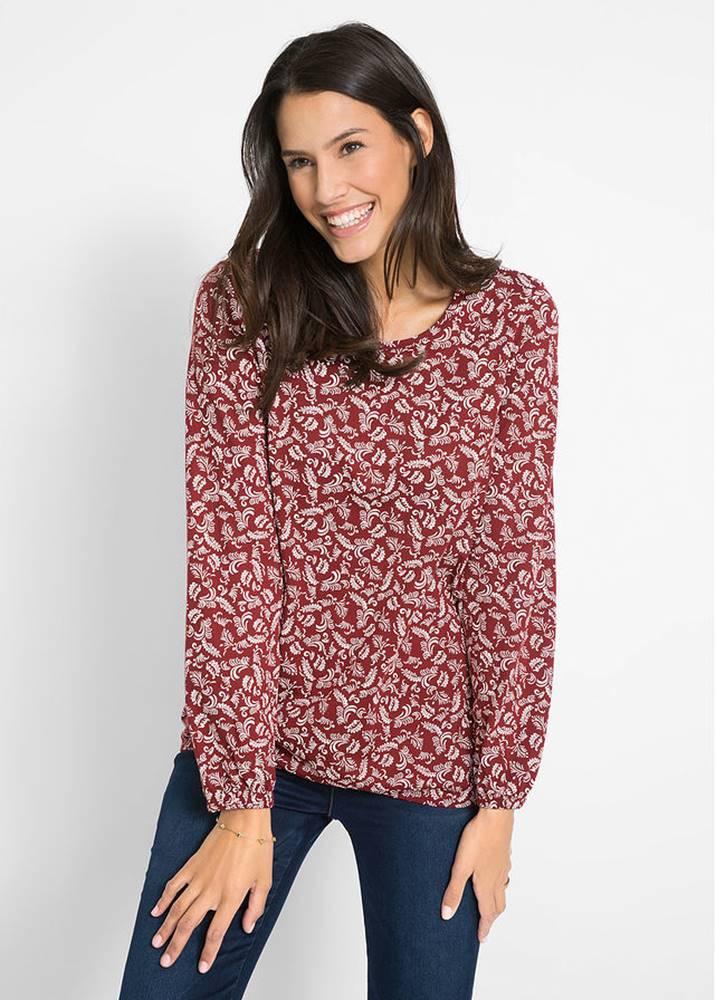bonprix Bavlnené tričko, dlhý rukáv
